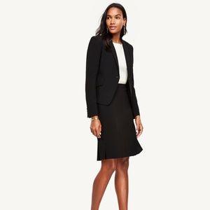 Ann Taylor-Triacetate One Button Suit Jacket Sz 0